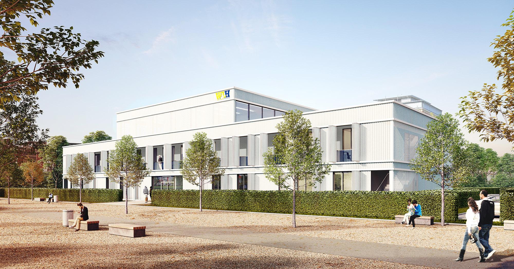 mojoimages architekturvisualisierung Baum Kappler Seminargebäude Immobilie Fürth 2016