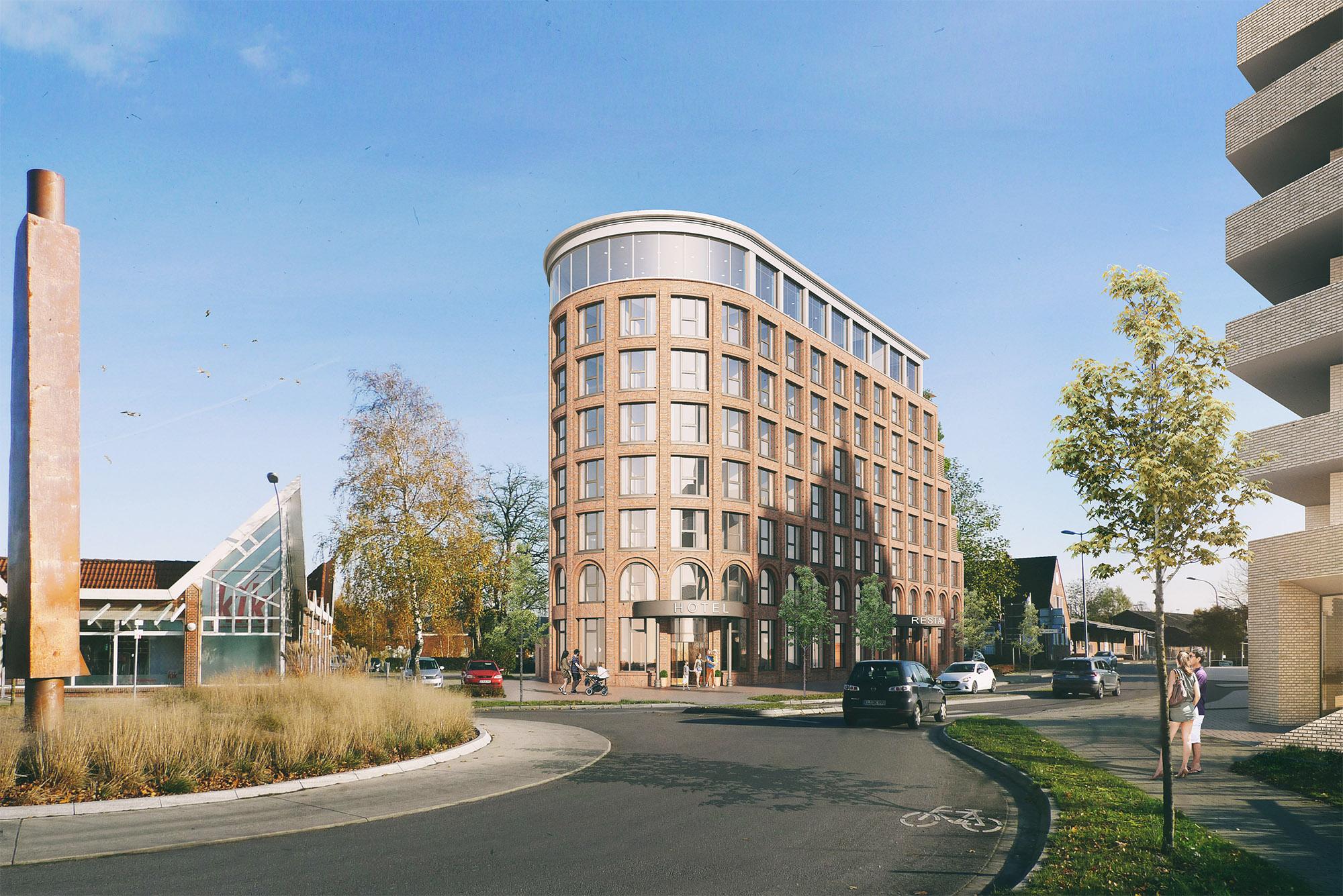 mojoimages architekturvisualisierung Eden Architekten Hotel Dock Leer 2019