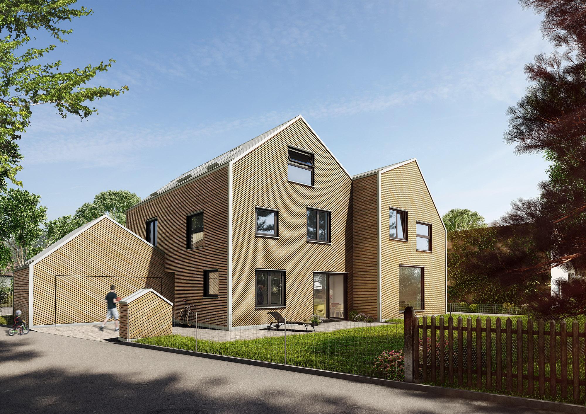 mojoimages architekturvisualisierung IFUB Hausfuchs Immobilie Muenchen 2016