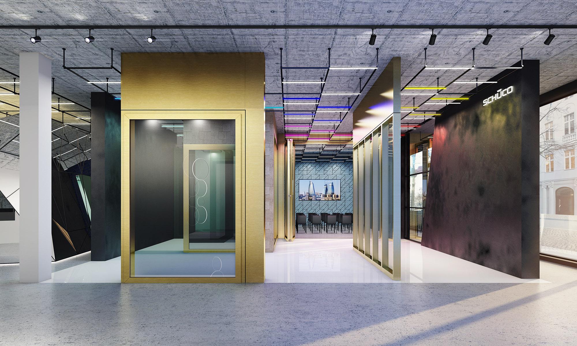 mojoimages architekturvisualisierung NordicOceanDesign Schueco Metropolitan Studio Berlin Objektbau 2018