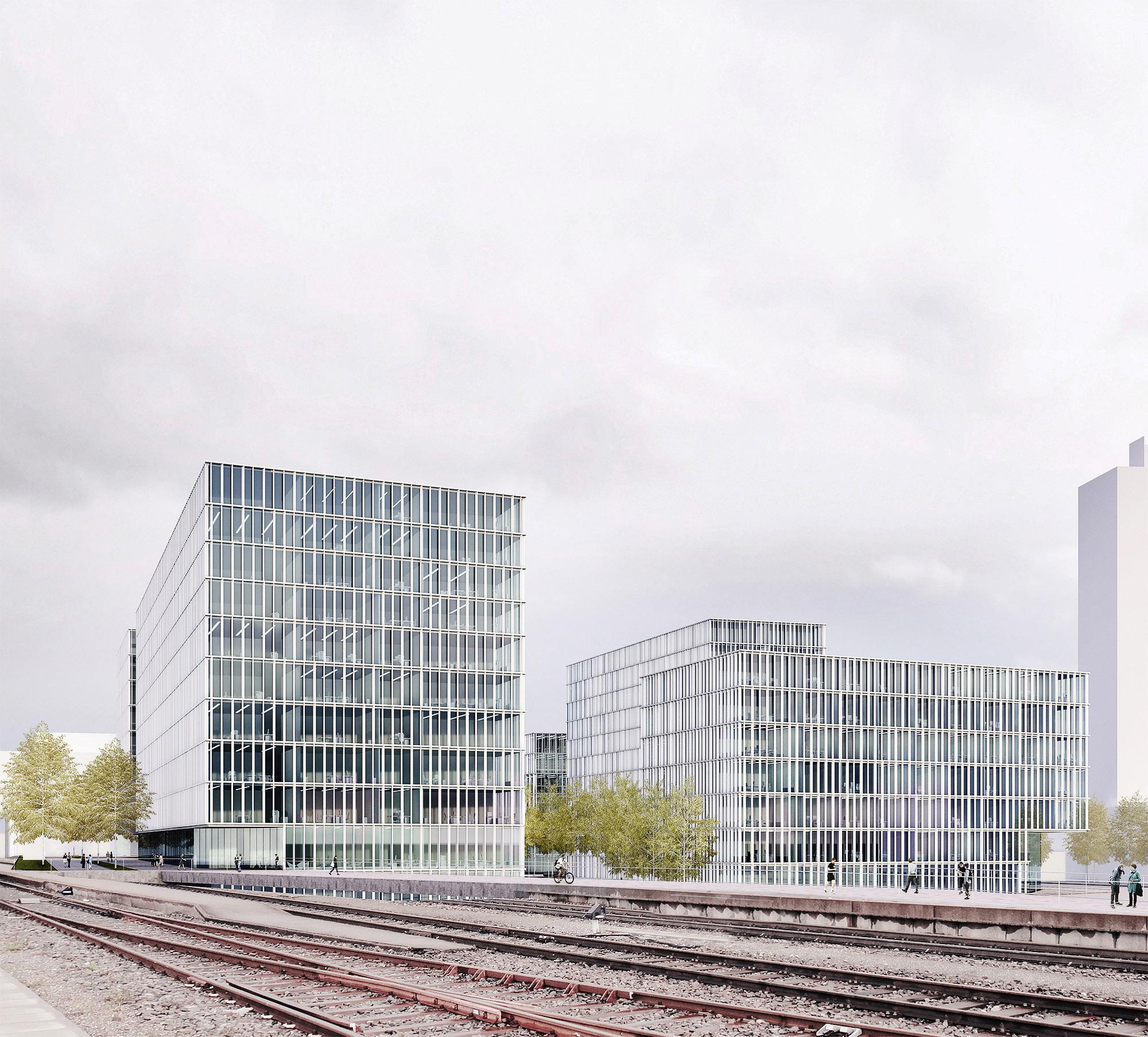 mojoimages architekturvisualisierung Riegler Riewe Wettbewerb Bildungscampus Wien erter Preis