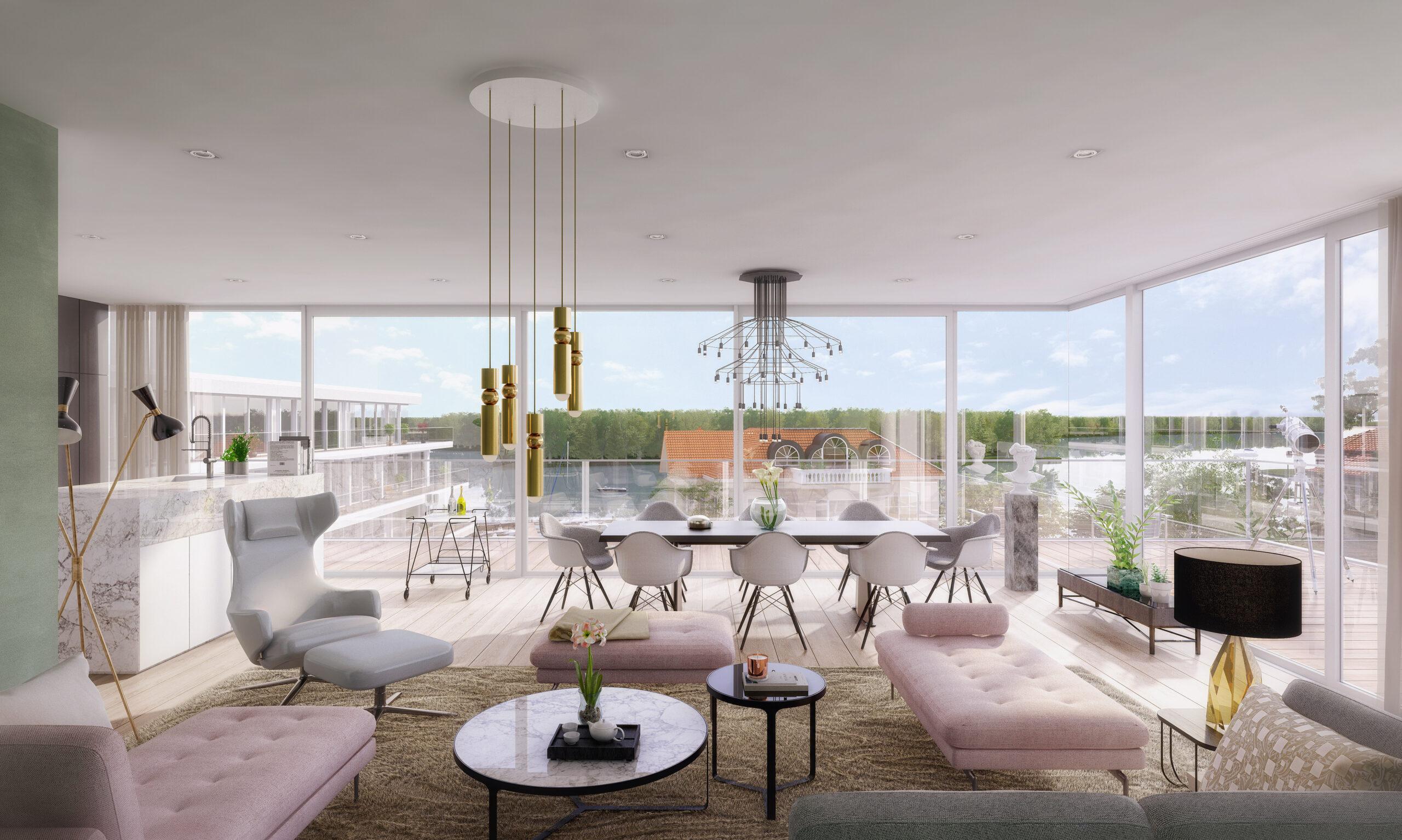 mojoimages architekturvisualisierung wohnpark jungfernsee penthouse